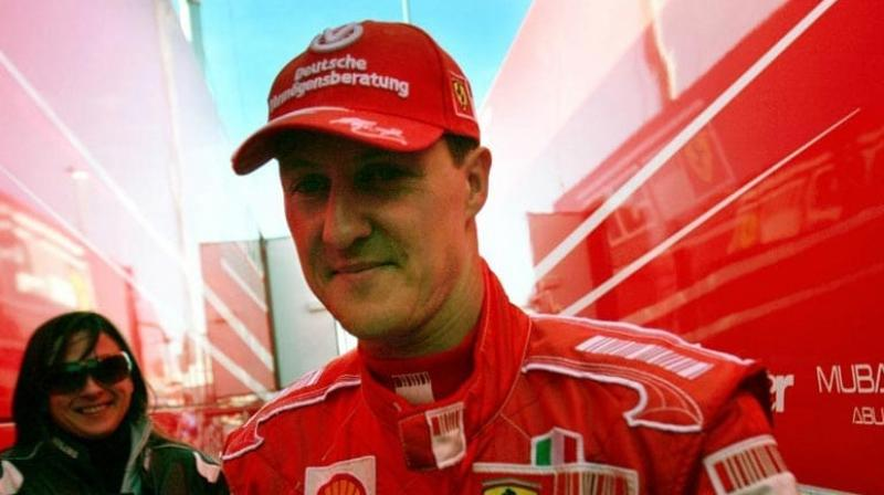The stricken seven-time Formula One world champion Michael Schumacher is in Paris' Georges-Pompidou hospital for cell therapy surgery, according to French daily Le Parisien. (Photo:AFP)