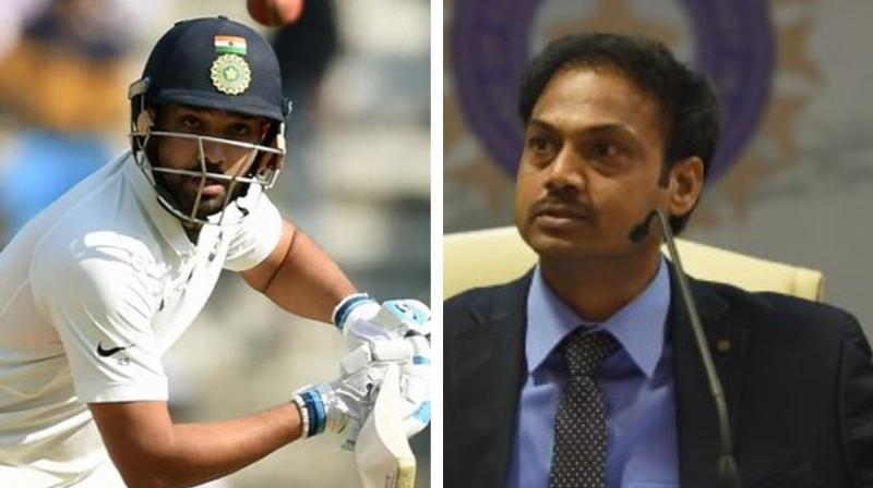 For much delight to the fans, prime selector MSK Prasad has finally decided to make Rohit Sharma open the innings during home Test series versus the Proteas. (Photo:AFP)