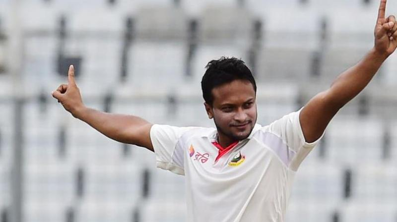 Twelve months of that ban is a suspended sentence which will come into effect if the 32-year-old, Shakib Al Hasan, fails to comply with the anti-corruption code of the world body. (Photo: AFP)