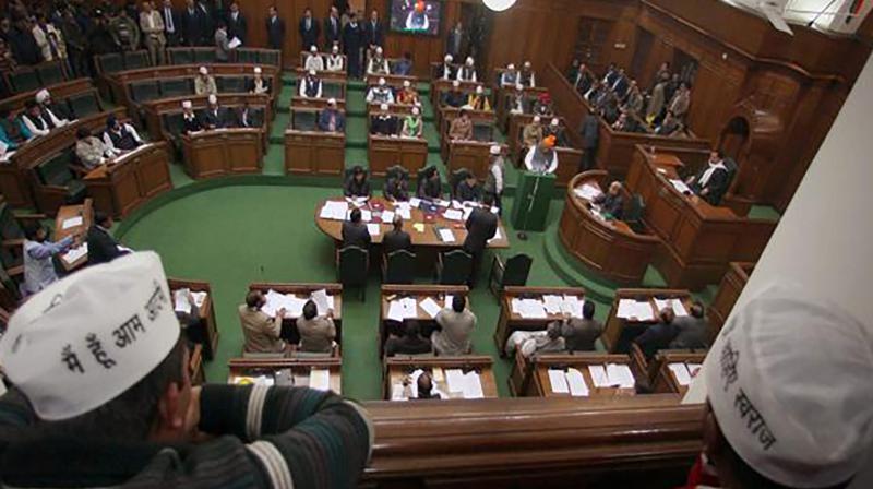 Delhi Assembly. (Photo: PTI/File)