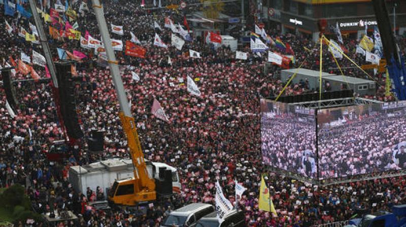 The protest on Saturday is expected to be the largest in the capital since June 10, 2008, when police said 80,000 people took part in a candlelight vigil. (Photo: AP)