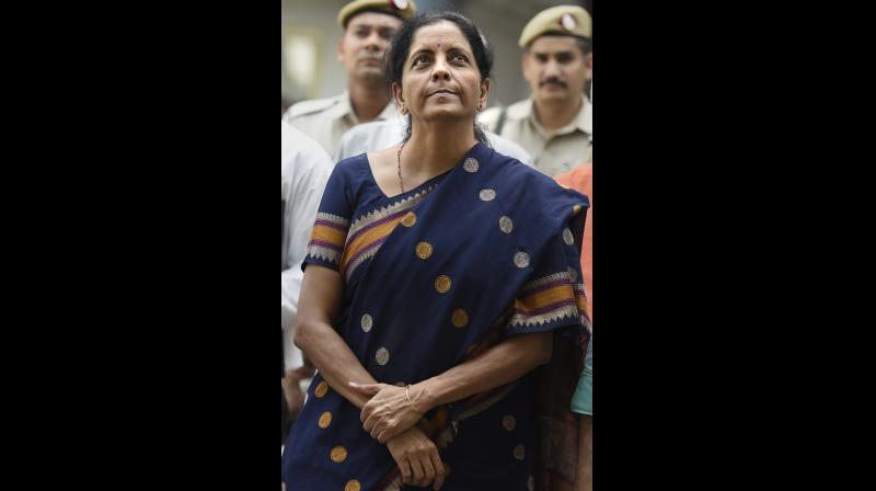 The ride has been rough for Ms Sitharaman. Despite her best efforts, and visible results on the fiscal front, both investment and consumption remain subdued due to persistent modest expectations about the near term. (PTI)