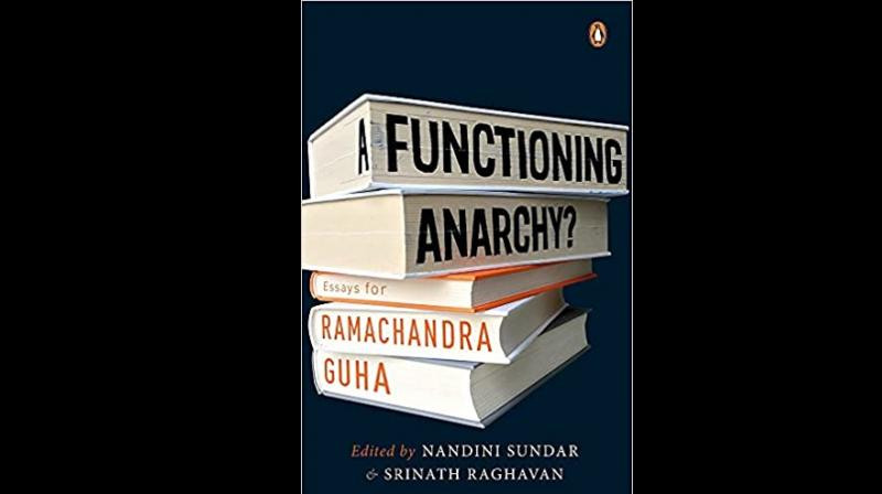 Cover page of 'A Functioning Anarchy? Essays for Ramachandra Guha' . (Twitter)