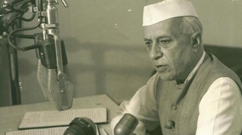 Jawaharlal Nehru, our first PM and foremost founding father of the new India, then contemplated the new India to be guided by reason and infused with the scientific temper. (Photo PTI)