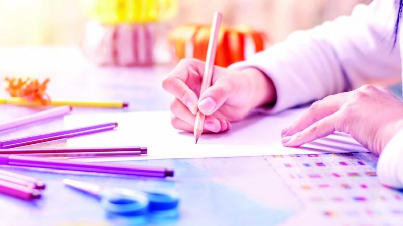 A professional graphologist, Mithila can crack the code to a better life by understanding handwriting and drawing. (Representational image)