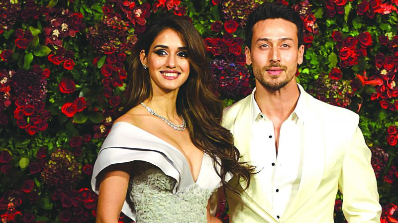 Tiger Shroff and Disha Patani.