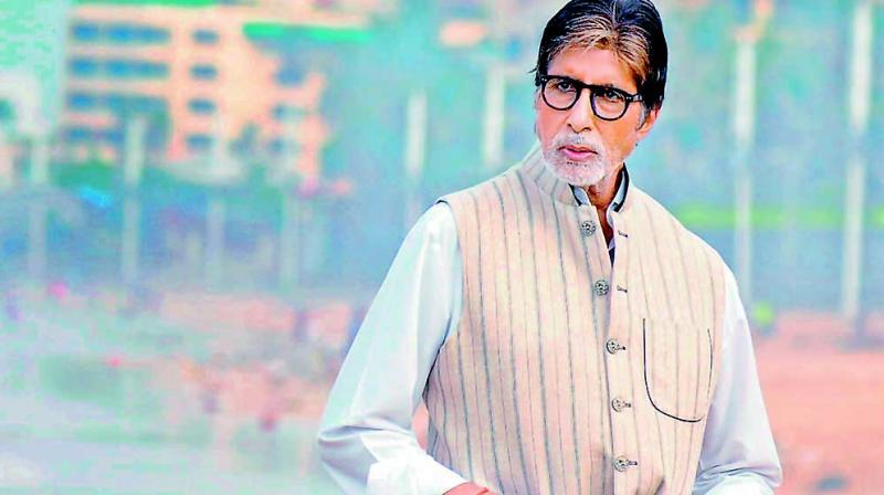File image of actor Amitabh Bachchan.