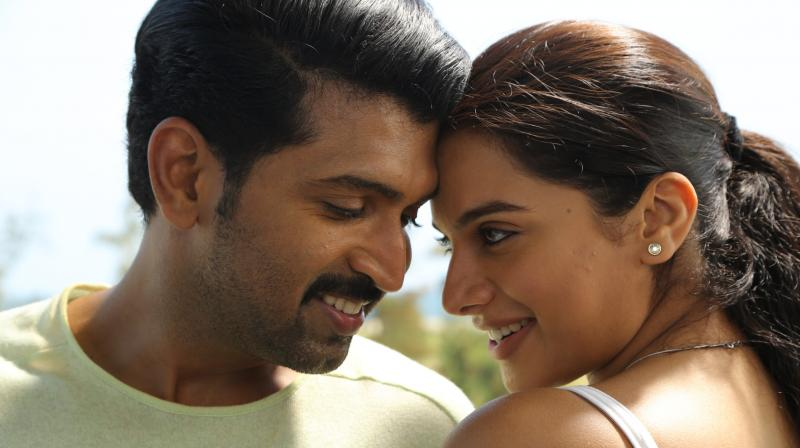 Thadam movie still.