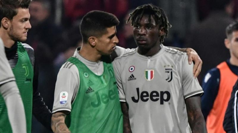 Juve, still missing Cristiano Ronaldo because of a thigh injury, are 21 points clear at the top and they will wrap up the title with seven games to spare if second-placed Napoli lose at home to Genoa on Sunday. (Photo: AFP)