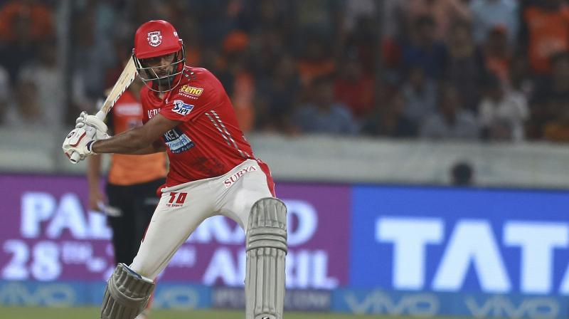 Sunrisers have been threatening in their first three games when David Warner and Jonny Bairstow stitched century-plus stands but once the duo got out cheaply, the Hyderabad team's middle-order looked in complete disarray. (Photo: AP)