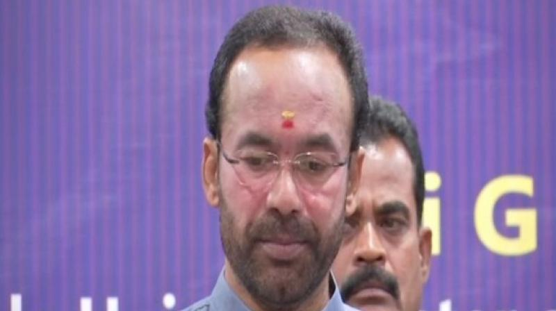 The minister said that Jammu and Kashmir will develop in the industrial sector and the culture of the state will be recognized. (Photo: ANI)