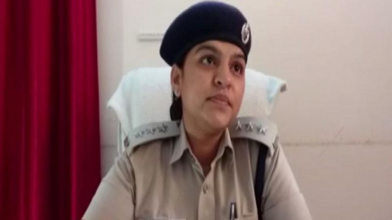'On Friday, we got a rape complaint by an inspector and a video was also shot which was used to sexually assault her several times,'  Deputy Superintendent of Police, Pushpa said. (Photo: ANI)