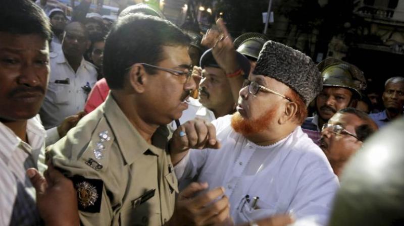 Maulana Noor-ur Rehman Barkati, who was sacked as the Shahi Imam of Tipu Sultan Masjid. (Photo: PTI)