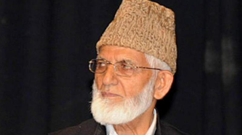 Syed Ali Shah Geelani. (PTI)