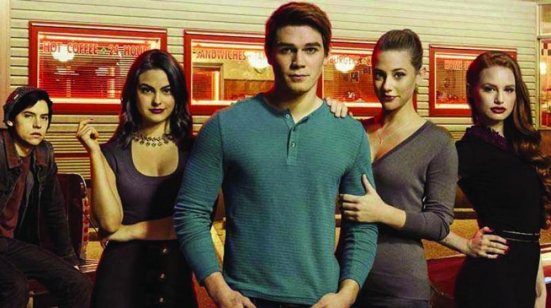 A love story brews between Archie-Veronica and Betty-Jughead.  Season One ended with the killer being revealed.