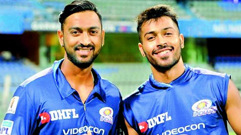 In the case of the Pandya brothers, Krunal is two years older than Hardik, but the latter made his international debut first