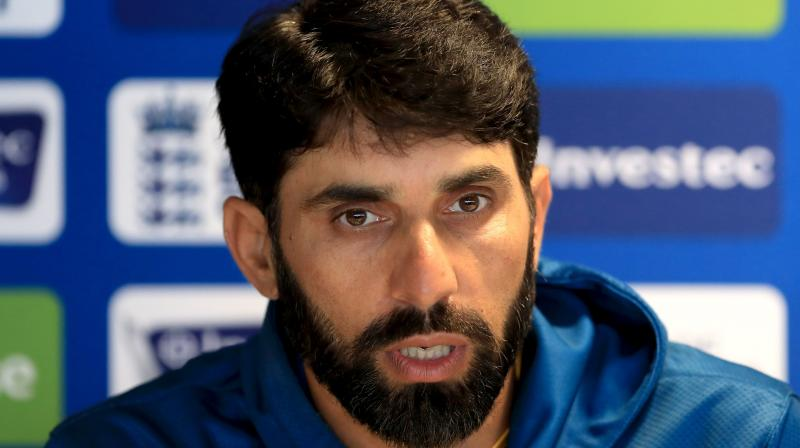 Misbah is the first skipper to lead Pakistan in 50 games. (Photo: AP)