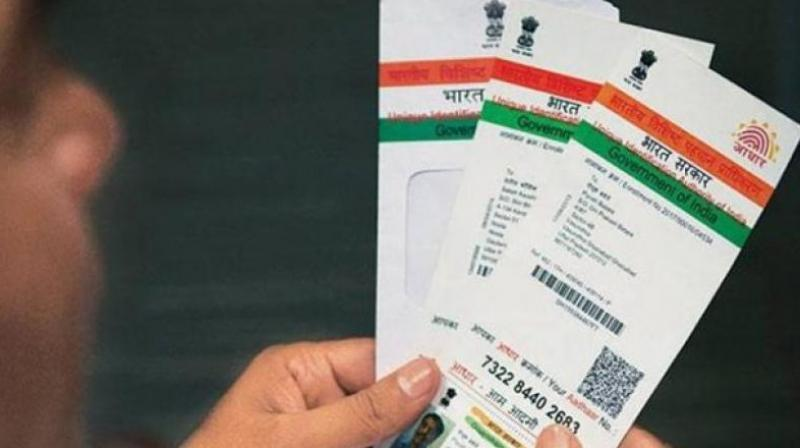 'There are 4000 to 5000 Aadhar cards of people in my ward. Instead of reaching to the people they belong, these Aadhar cards ended up at scrap dealer's shop in a sack. Some alert children who spotted them informed me,' Congress leader, Khan said. (Photo: File | Representational)