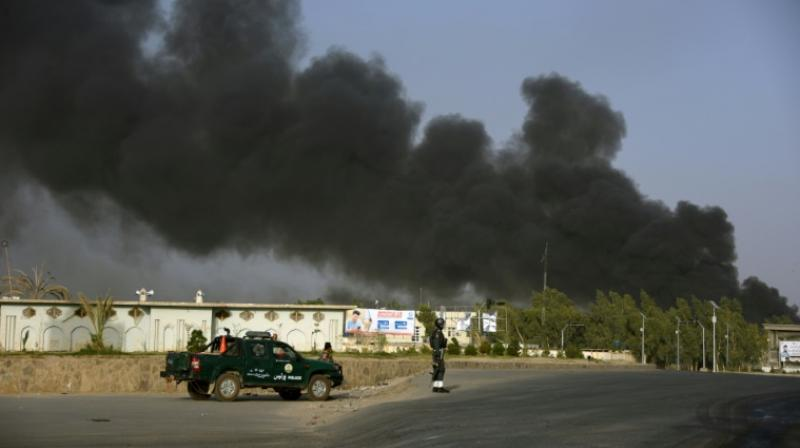 The governor's office said nine civilians were killed in the attack. (Photo: AFP)