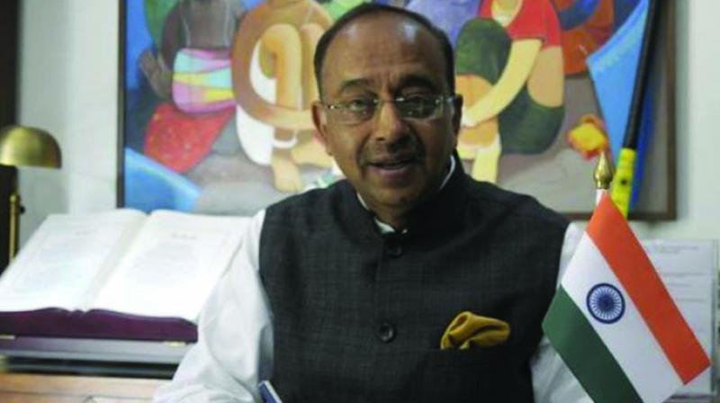 Former Union minister Vijay Goel