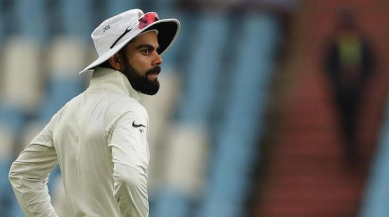 Virat Kohli was on Wednesday embroiled in a controversy when a fan termed him an 'over-rated batsman' comparing him to England and Australia cricketers. (Photo: BCCI)