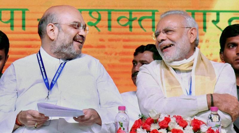 Prime Minister Narendra Modi and BJP President Amit Shah (Photo: PTI/File)