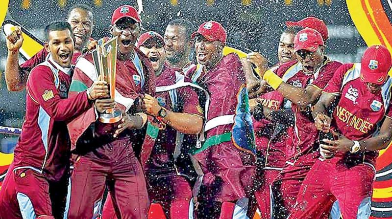 The West Indies are the reigning T20 world champions.