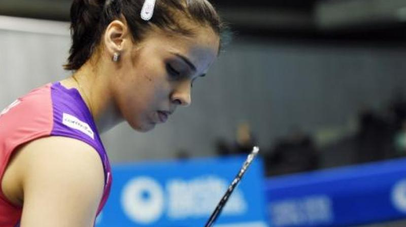 The Prakash Padukone Badminton Academy (PPBA) on Tuesday made it clear that it played no role in Saina Nehwal shifting from Gopichand Academy in Hyderabad to Bengaluru to train under Vimal Kumar ahead of the Rio Olympics, calling the move the 'sole decision' of the ace shuttler. (Photo:AFP)