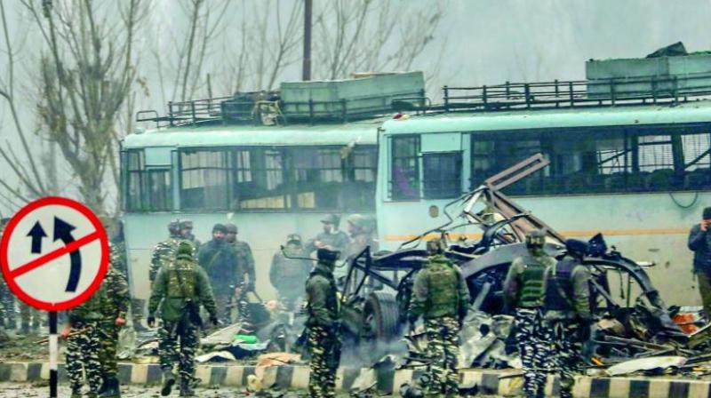 Suicide attacker Adil Ahmed Dar, who blew his explosive-laden vehicle next to a bus in a CRPF convoy on February 14, had been in constant contact with Khan, they said. (Photo: PTI | File)