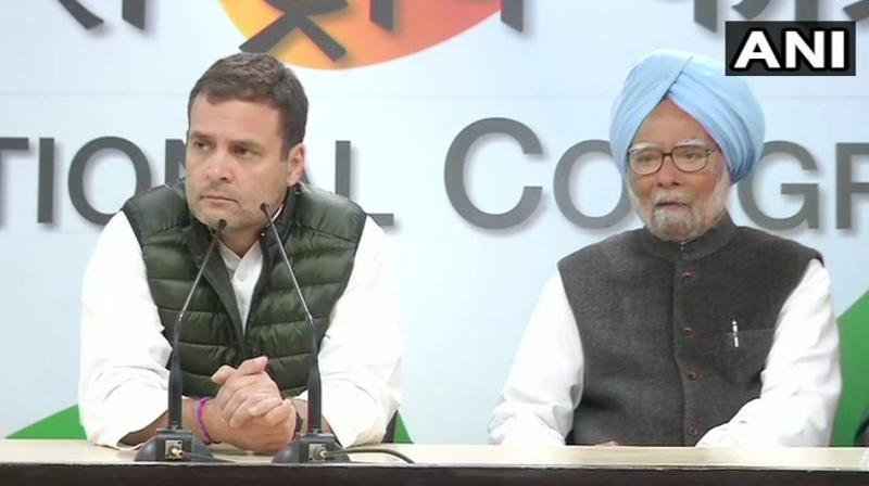 Rahul Gandhi said, 'This is a terrible tragedy. This type of violence done against our soldiers is absolutely disgusting.' (Photo: ANI | Twitter)