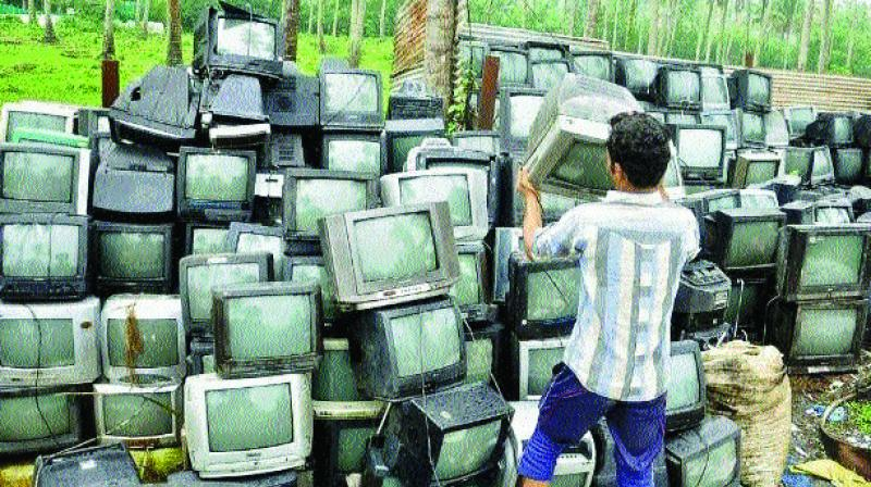 In a bid to check e-waste problem, Rajasthan government has decided to buy e-waste.