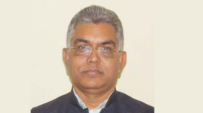 State BJP president Dilip Ghosh