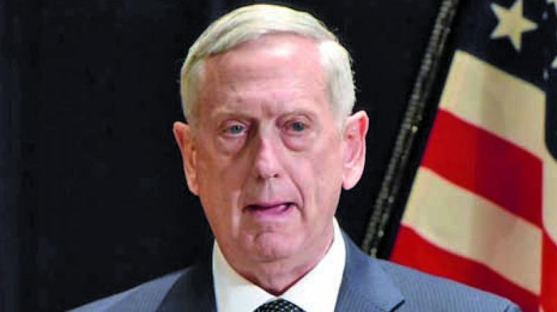 In Baghdad, Mattis was meeting with senior Iraqi government leaders and with US commanders. (Photo: File)