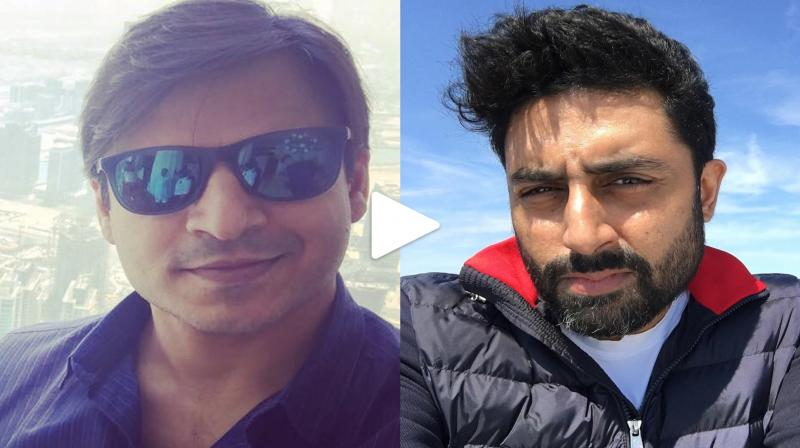 Vivek comes face to face with Abhishek first time since Ash meme