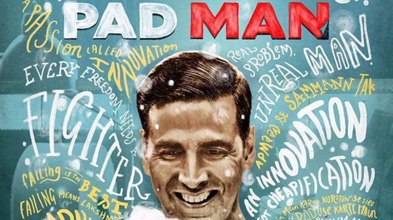 'Padman' poster.