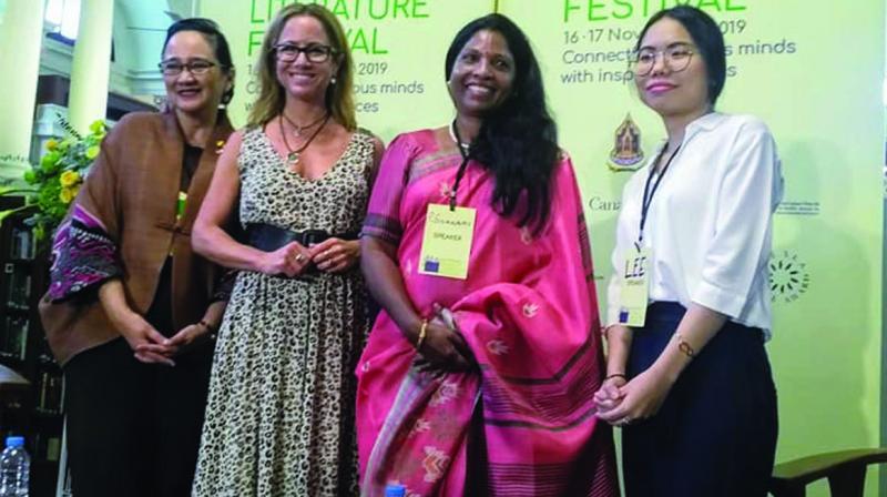 P. Sivakami with women writers