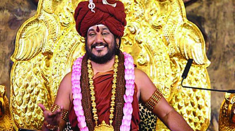 The government has cancelled passport of controversial self-styled godman Nithyananda. (Photo: File)