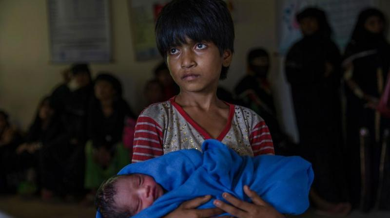 Some 700,000 Rohingya Muslims have fled over the border since August to escape a bloody military crackdown that has left a trail of torched villages in its wake as refugees allege murder and rape by Myanmar's armed forces. (Photo: File)