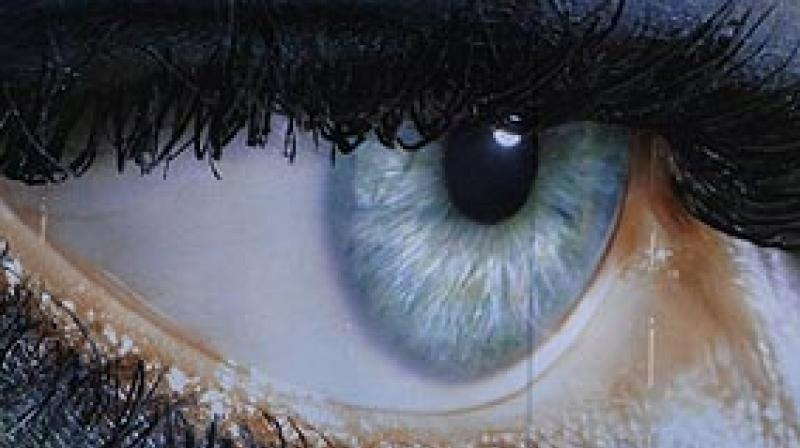 Lack of oxygen can make eyeballs vulnerable to bacteria that live on skin or in the mouth (Photo: AFP)