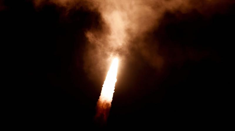 Isro's 8th navigation satellite launch IRNSS-1H was termed as unsuccessful. (Photo: PTI)