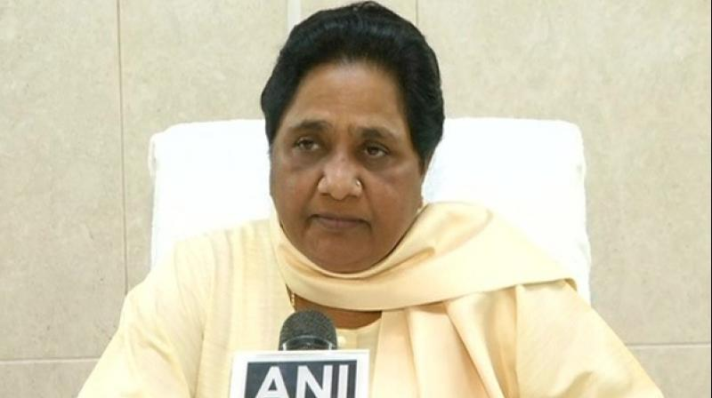 The former chief minister also clarified that including Uttar Pradesh, the BSP is not in alliance with the Congress in any other state.   (Photo: File)