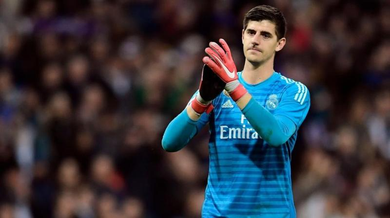 Belgium's Thibaut Courtois says he is among the world's leading goalkeepers despite facing criticism over his form for Real Madrid in recent months. (Photo:AFP)