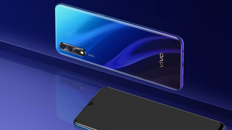 The device is equipped with an AI Triple Rear Camera setup with a 48MP Primary camera, 8MP Super Wide-Angle camera and 2MP Depth camera.