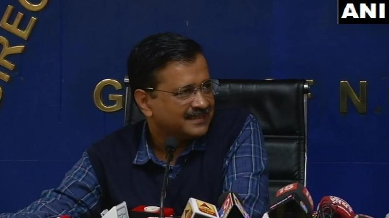 Commenting on the bad quality of tap water in the city, Kejriwal said,