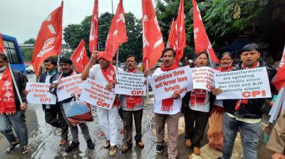 Bharat Bandh Latest: Protests in several states against agri laws