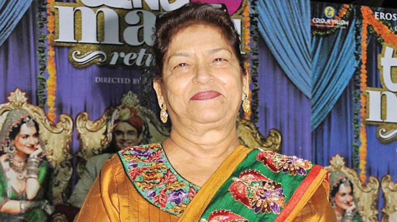 Veteran Choreographer Saroj Khan