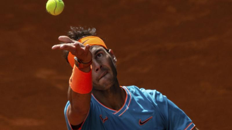 Nadal will take on Australian Open quarter-finalist Frances Tiafoe in the quarter-finals of Madrid Open. (Photo: AP)