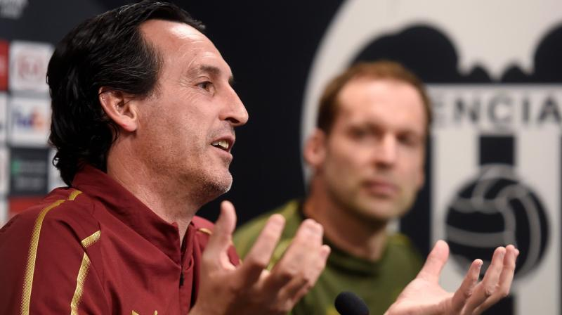 Arsenal sacked head coach Unai Emery and his coaching team on Friday. (Photo: AFP)