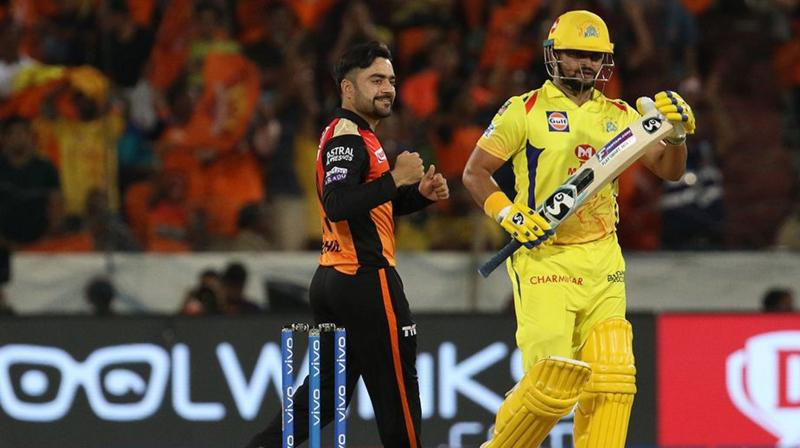 CSK were restricted at 132 for five after they opted to bat, SRH chased down the target with 19 balls to spare. (Photo: BCCI)