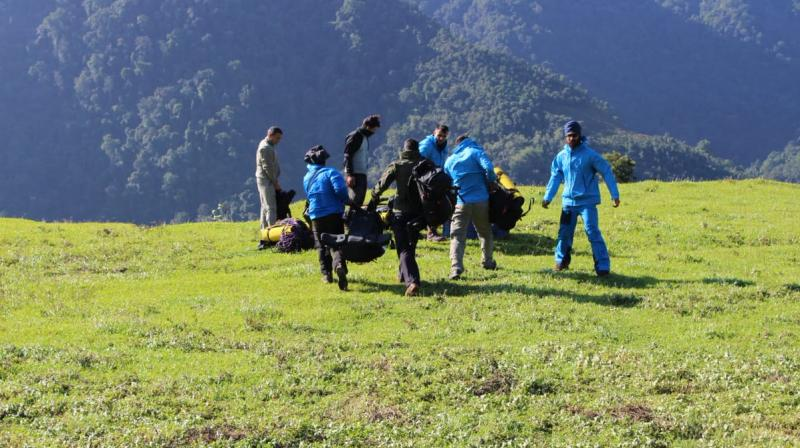 A 15-member team of rescuers on Wednesday, June 12 started looking around for possible survivors but extremely difficult terrain and bad weather had delayed progress. (Photo: ANI)